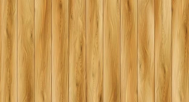 Fundo de textura de madeira realista. textura do assoalho de madeira. ilustração vetorial eps10