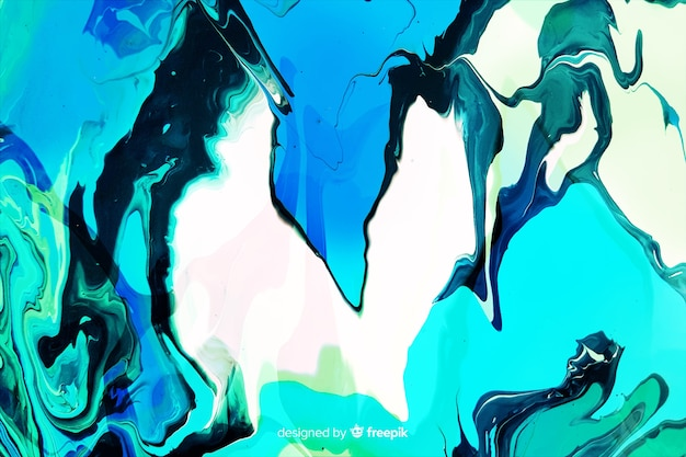 Fundo de textura de mármore de tinta azul