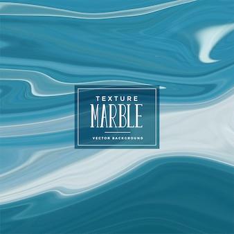 Fundo de textura de mármore líquido azul abstrato