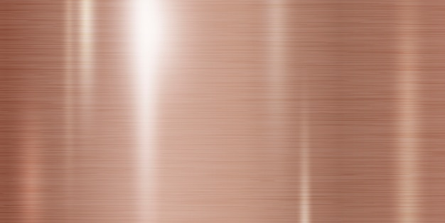 Fundo de textura de metal cobre
