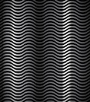 Fundo de textura de metal ondulado