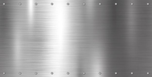 Fundo de textura de metal prateado