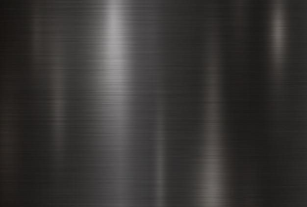 Fundo de textura de metal preto