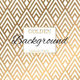 Fundo de textura de padrão de ouro clássico art déco