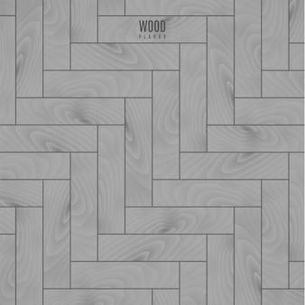 Fundo de textura de piso de madeira cinza para seu projeto. ilustração