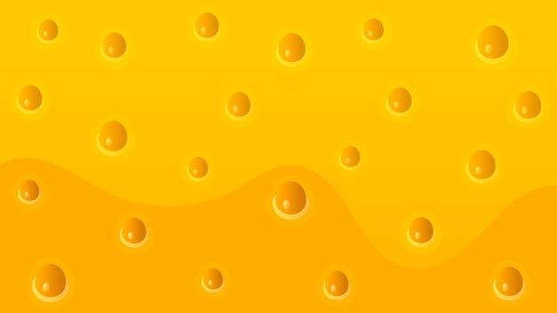 Fundo de textura de queijo realista