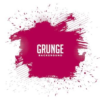 Fundo de textura de respingos de tinta grunge bagunçado abstrato