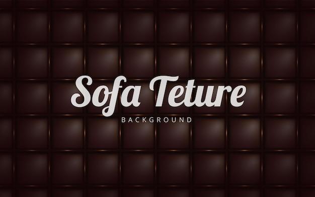 Fundo de textura de sofá marrom