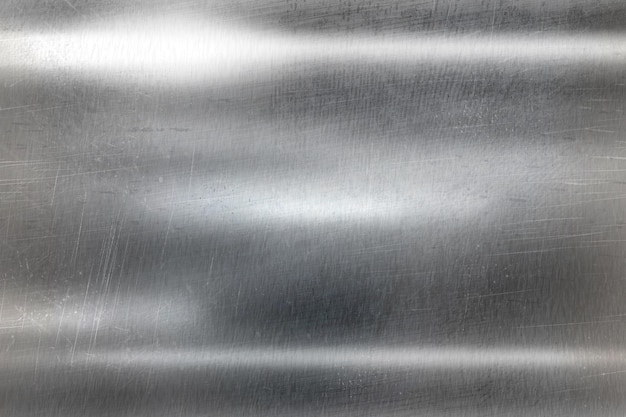 Fundo de textura de superfície metálica