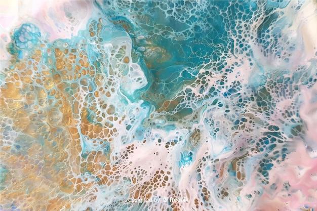Fundo de textura de tinta de mármore