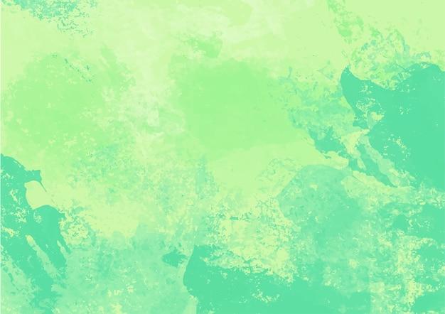 Fundo de textura de tinta verde.