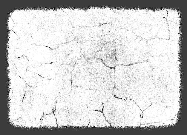 Fundo de textura grunge com arranhões e rachaduras