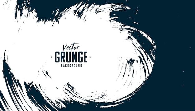 Fundo de textura grunge preto e branco