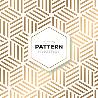 Fundo de textura moderna padrão ouro isométrica