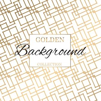 Fundo de textura moderna padrão ouro