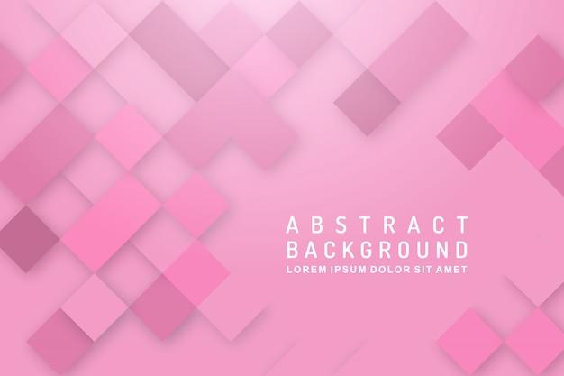 Fundo de textura rosa de ractangle