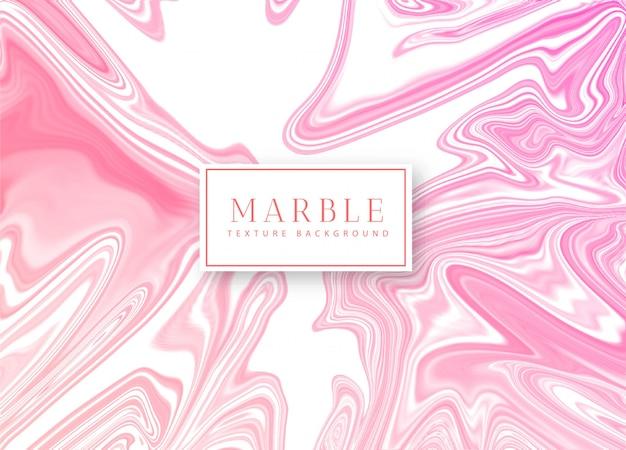 Fundo de textura rosa mármore líquido