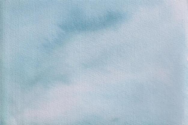 Fundo de textura suave aquarela azul claro
