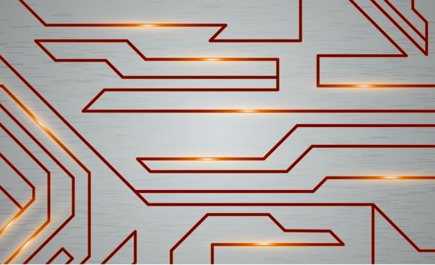 Fundo de textura techno futurista