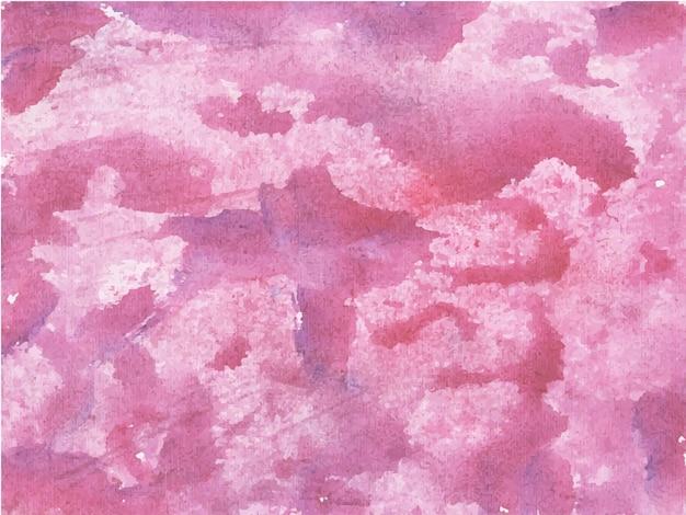 Fundo de texturas aquarela abstratas rosa
