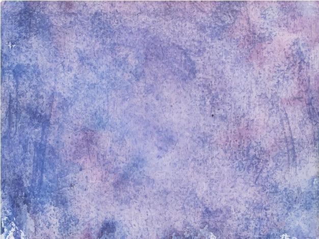 Fundo de texturas aquarela abstratas roxas