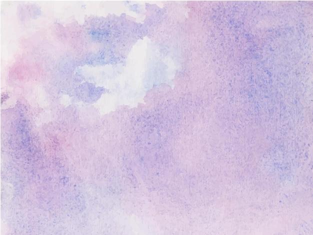 Fundo de texturas aquarela roxas abstratas