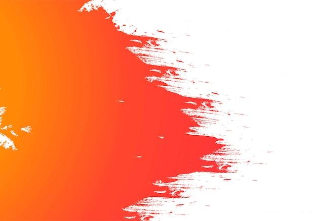 Fundo de traçado de pincel aquarela colorida abstrata