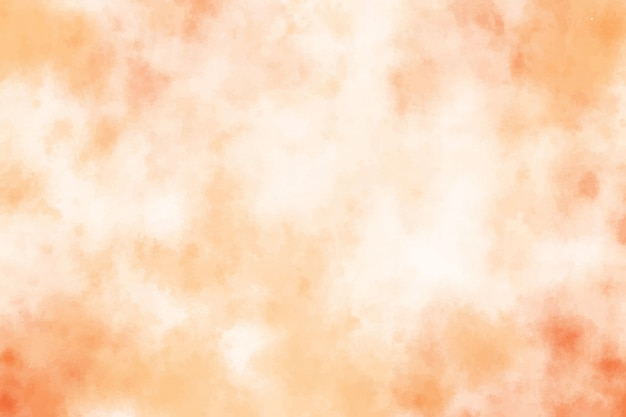 Fundo de traçado de pincel laranja aquarela grunge areia