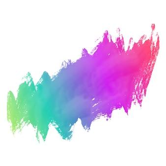 Fundo de traço de pintura colorida grunge