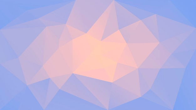 Fundo de triângulo horizontal abstrato gradiente