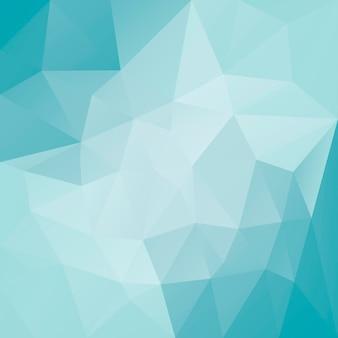 Fundo de triângulo quadrado abstrato gradiente
