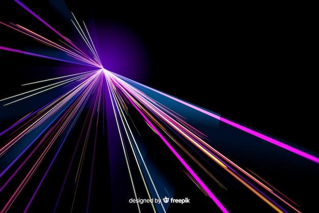 Fundo de trilha de luz