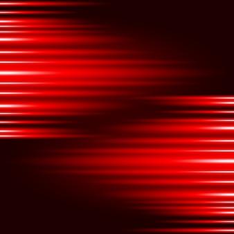 Fundo de vector de efeito de luz vermelha de brilho abstrato