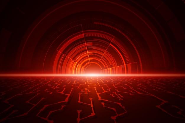 Fundo de velocidade abstrata tecnologia
