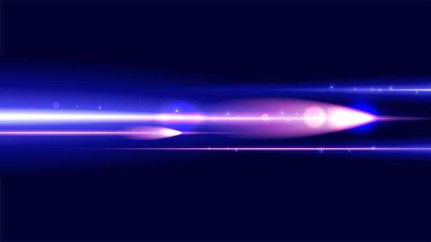 Fundo de velocidade de luz de fantasia