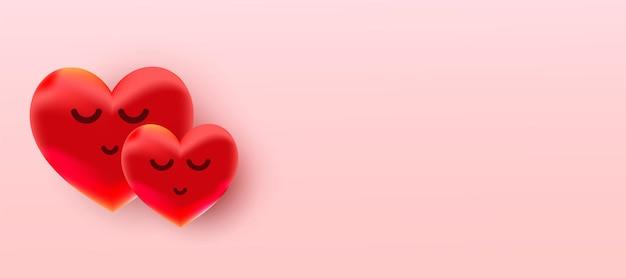 Fundo de venda de dia dos namorados com balão em forma de coração.