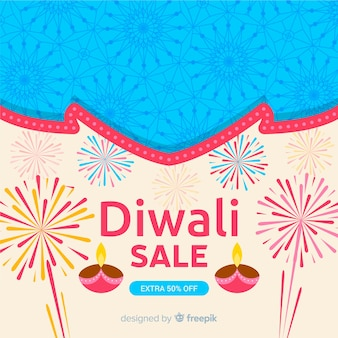 Fundo de venda de diwali
