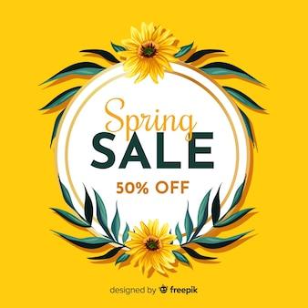 Fundo de venda de primavera