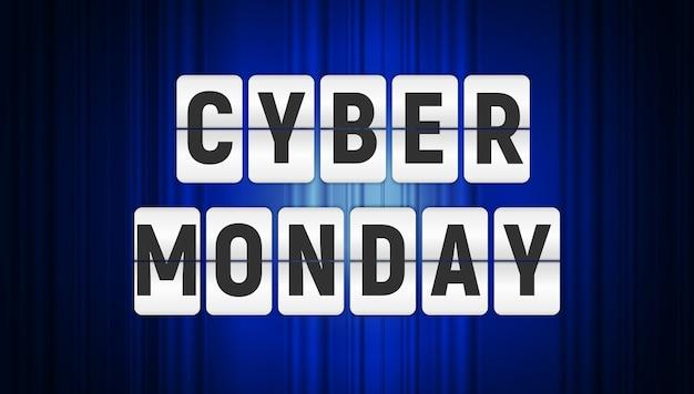 Fundo de venda do cyber segunda-feira.