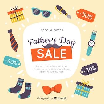Fundo de venda do dia dos pais