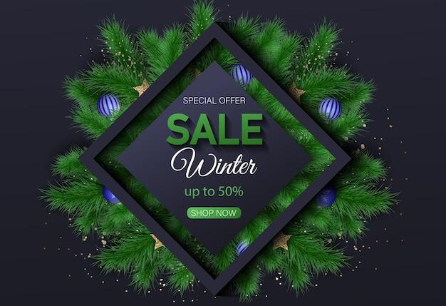 Fundo de venda feliz natal e feliz ano novo