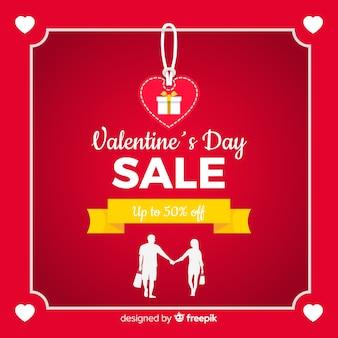 Fundo de venda lindo dia dos namorados