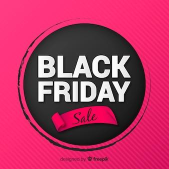Fundo de venda sexta-feira negra rosa