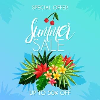 Fundo de venda verão