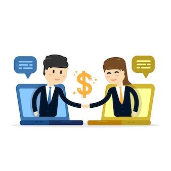 Fundo de vendas de empresa para empresa