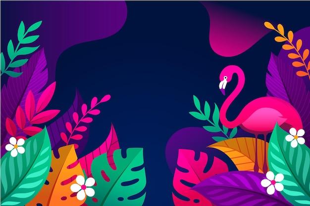 Fundo de verão colorido design