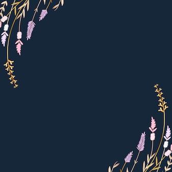 Fundo de verão floral