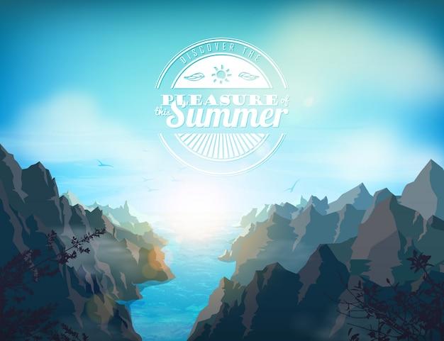 Fundo de verão