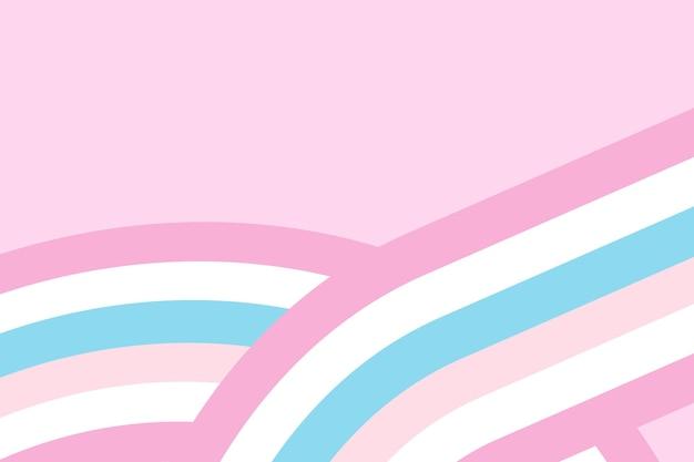 Fundo de vetor de bandeira de orgulho bigênero