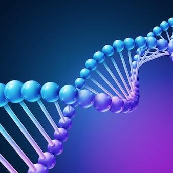 Fundo de vetor de ciência médica natureza digital
